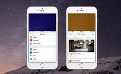 Cómo Cambiar el Color de la Función Reachability en iPhone 6 y 6 Plus   Cydia