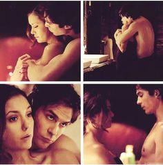 TVD Episode Still 6x20 Elena and Damon