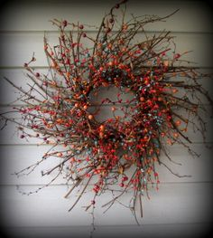 Primitive Home Decor and More..... - Pip Berry Wreaths