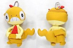 Pokemon Center Scraggy Zurrokex Baggiguane 곤율랭 Mascot porch. bag With gifts #PokemonCenter