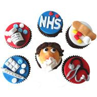 Love the detail on these NHS cupcakes - it's what helped them win in August 2012. Thanks to Angie Davidson for the submission!