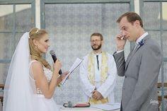 A troca de votos de Bárbara e Anderson!  Emocionante! Flor de Lis - Assessoria de Casamentos