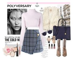 """""""Lovely girl"""" by liza-aksutina ❤ liked on Polyvore featuring Hollister Co., Aéropostale, Chicwish, Michael Kors, Balmain, Thierry Lasry, Jessica Carlyle, Burberry, Bulgari and Victoria's Secret"""