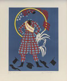 Robert Indiana.. (1977)  Litografia 11 /150. 61 X 51 Cm.Printer: Fernand Mourlot, Paris Publisher: Leon Amiel, New York