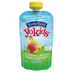 Have You Seen the New Refridgerated Stonyfield Yogurt Pouches? ~Plus~ 10 Free Product Coupon #Giveaway