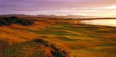 Dornoch's eighth as seen from the approach.