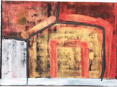 Artist : Jeff Lowe Title : Untitled 6 Media : Original - Acrylic on Paper Size : 57 x 78cm Price : www.ArtCatto.com