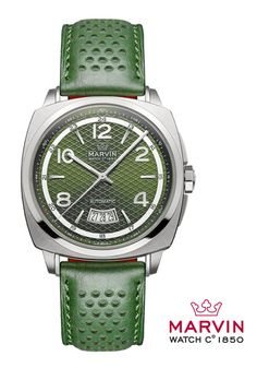Marvin Automatic Malton. A watch that is way cooler than it's wearer.
