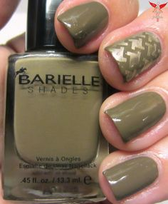 "The Nail Junkie: SWATCH/REVIEW: Barielle ""Nude & Naughty"" Collection FALL 2013"
