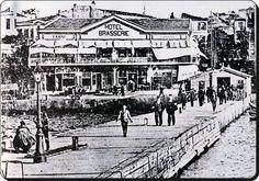 Büyükada İskelesi - 1890lar... Şimdiki iskele binası 1915te yapılmış.