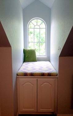 Dormer Bedroom great use for those silly little spaces under the dormers