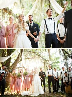 Christ-Centered Wedding Scene