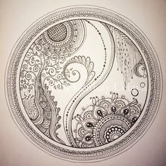 Oodles of doodles! Colouring Pages, Adult Coloring Pages, Traditional Henna, Henna Mehndi, Mandala Art, Mehndi Designs, Wood Burning, Zentangle, Drawing Ideas