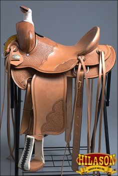 This is a gorgeous looking Brand New Big King Series Saddle by Hilason. Only the finest material and top quality workmanship is used to make this fantastic saddle. Every aspect of the saddle is perfected to ensure full customer satisfaction. Roping Saddles, Horse Saddles, Horse Tack, Western Saddles, Western Tack, Saddles For Sale, Cowboy Vest, Leather Carving, Horses