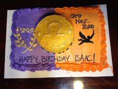 Percy Jackson Inspired Birthday Cake. My Birthday is coming up ...
