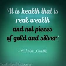 Wisdom quotes it is health that is real wealth and not pieces of gold and silver quote by mahatma gandhi - Collection Of Inspiring Quotes, Sayings, Images Men Quotes, Quotable Quotes, Famous Quotes, Wisdom Quotes, Wealth Quotes, Silver Quotes, Mahatma Gandhi Quotes, Healthy Brain, Young Living Essential Oils