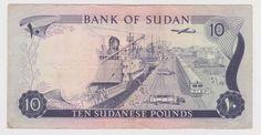 J516   SUDAN  -  BANK OF SUDAN 10 POUNDS NOTE 1978 - F+