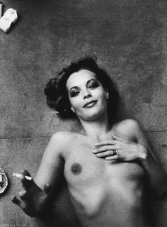 Romy Schneider by Giancarlo Botti, Paris, 1974