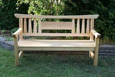 JAPANESE GARDEN BENCH - Reader's Gallery - Fine Woodworking