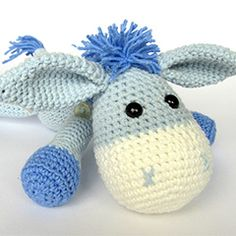 Donkey Ruda amigurumi pattern by DioneDesign