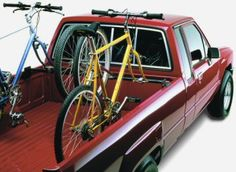 Wheel Fork Block Mounts The Hollywood fork block mounts to any solid surface, such as a truck tool box, trailer, or a home-made custom rack. Also have bike mount and wheel mount. Your bike rack source since Bike Holder, Bike Rack, Truck Tool Box, Bike Mount, Drilling Holes, Bed Rails, Truck Camping, Truck Bed, Skewers