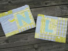 Quilt Story: Twin baby quilts from Our Busy Little Bunch...