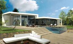 Maison Max - Plan de maison Moderne réalisé par les architectes partenaire d'Archionline #architecture #design #maison #rêve #house #Archionline