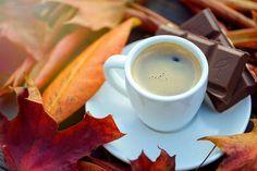 Autumn's coffee by Natasha Busel