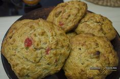 Rock Cakes with no butter and no sugar