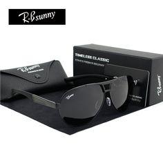 de Fashion Brands polarized sunglasses Men Business Classic high quality sunglasses block Driving glare goggle R.Bsunny for just Men Sunglasses Fashion, Retro Sunglasses, Sunglasses Women, Men's Accessories, Sunglasses Accessories, Estilo Fashion, Pretty Lingerie, Polarized Sunglasses, Fashion Brands