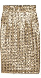 Paul & JoeSagrada sequined pencil skirt