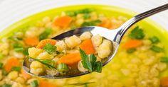 Soupe aux pois jaunes cassés - Association Manger Santé Bio Food Design, Cantaloupe, Fruit, Vegetables, Bio, Robot, Food, Red Bean Soup, Cream Soups