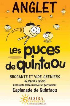 affiche Puces de Quintaou