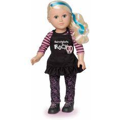 """My Life As 18"""" Hair Stylist Doll, Caucasian"""