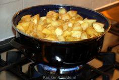 Betuwse appelflappen - Keuken♥Liefde Donut Muffins, Donuts, Sweet Pie, High Tea, Cupcakes, Snacks, Cookies, Ethnic Recipes, Desserts