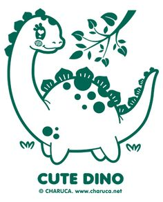 Charuca Cute Dino by charuca, via Flickr