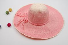 Women's Summer  Straw Hats For The Beach 2 Colors - Loluxe - 2