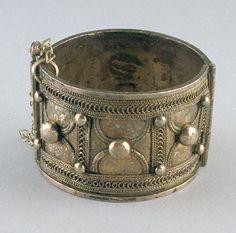 Ethiopia | Bracelet; silver | Early 20th century