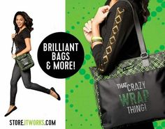Love the bag! Brag the bag! #itworksbag #crazywrapthing  Wrapmymind.myitworks.com
