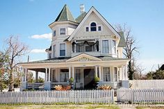 Victorian Style   Large Victorian Style Home Royalty Free Stock Images - Image: 13476889