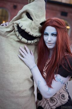 Oogie Boogie and Sally