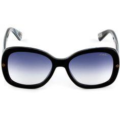 Acetate Sunglasses ($350) ❤ liked on Polyvore