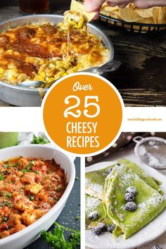 Cheese please! Over 25 creative cheesy recipe ideas for you to make and enjoy - including some vegan cheese options! Cheese Dishes, Food Dishes, Side Dishes, Greek Fried Cheese, Popular Recipes, Great Recipes, Canadian Food, Canadian Cheese, Mexican Grilled Corn
