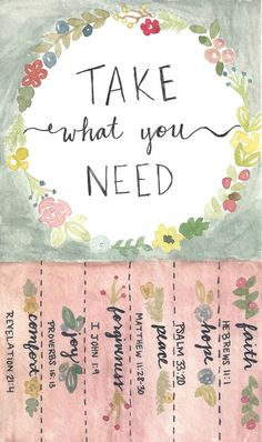 Cute free printable! Show love to the people around you. Take what you need