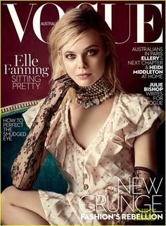 Elle Fanning Nabs Vogue Australia's March 2016 Cover - See It Here!: Photo #930576. Elle Fanning graces the March 2016 cover of Vogue Australia, on international news stands now.    The mag boasts that the 17-year-old Trumbo star