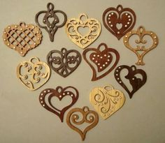 My Journey As A Scroll Saw Pattern Designer #581: Have a Heart! - by Sheila Landry (scrollgirl) @ LumberJocks.com ~ woodworking community: