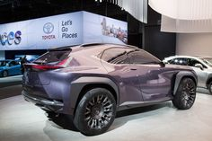 You'll cut your hand on the  2017  Lexus UX Concept if you're not careful