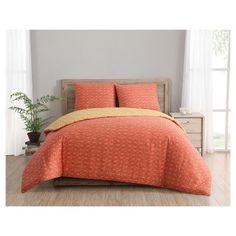 Geometric Duvet Cover Set (Full/Queen) 3pc - Clairebella,