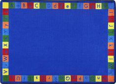 Primarily Alphabet Classroom Rug