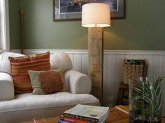 Pure Green: Eco-DIY - Rustic Lamp by daniu